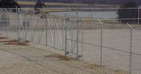 Aircraft Insurance Storage Fence