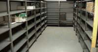 Locked Shelving Area