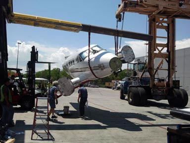 Aircraft Salvage - Airplanes and Helicopters Salvage Parted